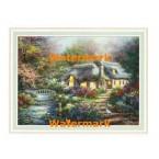 Garden Pond  - #XAR6756  -  PRINT
