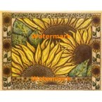 Sunflower Field  - #XAR6086  -  PRINT