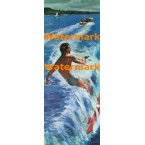 Water Skiing  - #XD4618  -  PRINT