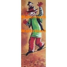 Circus Tightrope Walker  -  #XD5101  -  PRINT