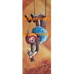 Circus Trapeze Artist  -  #XD5104  -  PRINT