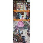 Olde Curiousity Shop  - #XD5136  -  PRINT