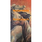 Three Horses  - #XKGZ737  -  PRINT