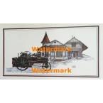 Train Station  -  #XKGZ9015  -  PRINT