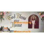 God Bless our Home  - #XBRE37  -  PRINT