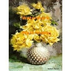 Yellow Rose Bouquet  - XBFL711  -  PRINT