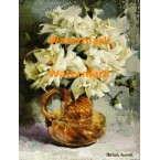 White Rose Bouquet  - XBFL712  -  PRINT