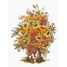 Flowers  - XBFL809  -  PRINT
