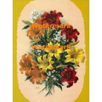 Lilies  - XKF268  -  PRINT