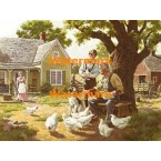 A Day on the Farm  - XKFJ1255  -  PRINT