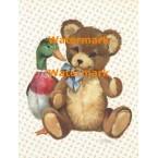 Mallard & Teddy  - #XS10154  -  PRINT