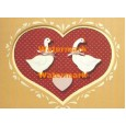 Hearts  - #XS10641  -  PRINT