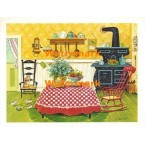 Country Kitchen  - #XS1333  -  PRINT