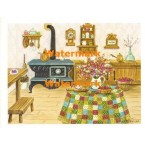 Country Kitchen  - #XS1335  -  PRINT