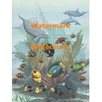 Ocean Life  - #XS15594  -  PRINT