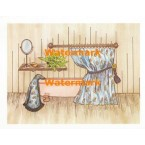 Greenhouse Bathtub  - #XS4575  -  PRINT
