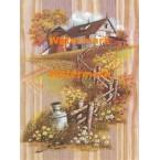Milk Jug & Wooden Fence  - XS5854  -  PRINT
