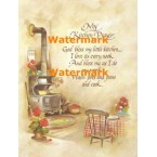 My Kitchen Prayer  - XS6277  -  PRINT