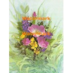 Delicate Flowers  - #XS6449  -  PRINT