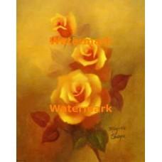 1.  Yellow Roses  - #XD7470  -  PRINT