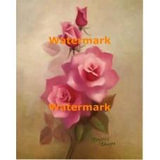 1.  Pink Roses  - #XD7471  -  PRINT