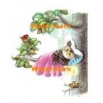 Owl Resting  - #XD7621  -  PRINT