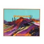 Vibrant Hills  - #XKFL7705  -  PRINT
