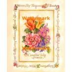 Camellia, Tuilp, & Primrose  -  #XAR7387  -  PRINT
