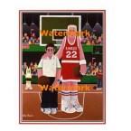 Basketball  - #XKFL7118  -  PRINT