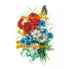 Flower Bouquet  - #XD8140  -  PRINT