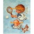Tennis Ace  - #XKL8219  -  PRINT