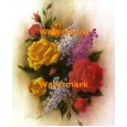 Rose Bouquet  - #XXKL8854  -  PRINT 8x10