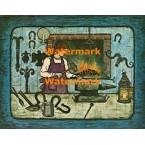 The Blacksmith  - XBAM117  -  PRINT
