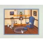 The Sitting Room  - #XBAM529  -  PRINT