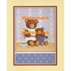 Teddy Bear Gardeners  - #XAR01190  -  PRINT