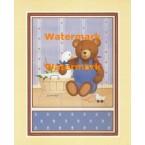 Teddy Bear Farmer  - #XAR01193  -  PRINT