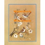 Birds on Branch  - XBBI-641  -  PRINT
