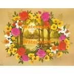 Flower Window  - XBFL1287  -  PRINT