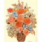 Flower Arrangement  - #XBFL1364  -  PRINT