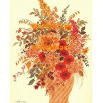 Flower Arrangement  - #XBFL1366  -  PRINT