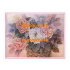 Flowers in Basket  - #XBFL2513  -  PRINT