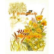 Scenic Florals  - #XD9061  -  PRINT