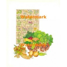 The Herb Chart  - #XD9413  -  PRINT