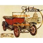 Vintage Car:  Hudson  - #XD9697  -  PRINT
