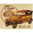 Vintage Car:  Clyno  - #XD9700  -  PRINT