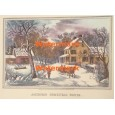 American Homestead Winter  - XBCI-105  -  PRINT