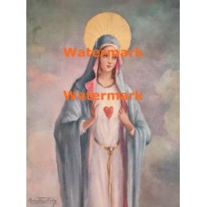 Immaculate Heart of Mary  - XBRE28  -  PRINT