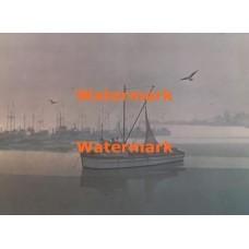 Foggy Harbor  - XBSC1377  -  PRINT