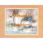 Florals In Pastel Splendor  - #XBPP1600  -  PRINT
