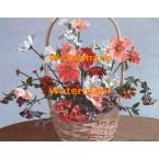 Floral Basket  - #XBPP2101  -  PRINT